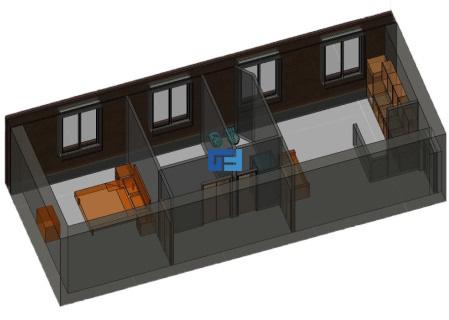Appartamento parioli pinciano vendita for Planimetrie della casa minuscola con due camere da letto